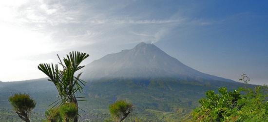 Merapi view from Ketep Pass